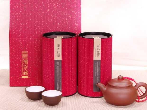 紅烏龍+蜜香紅茶組