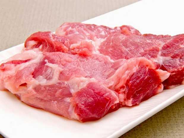 黑豬梅花肉
