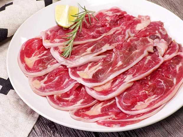 小羊頸肉片