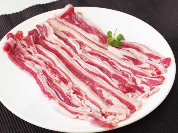 小羊五花肉片(厚片)