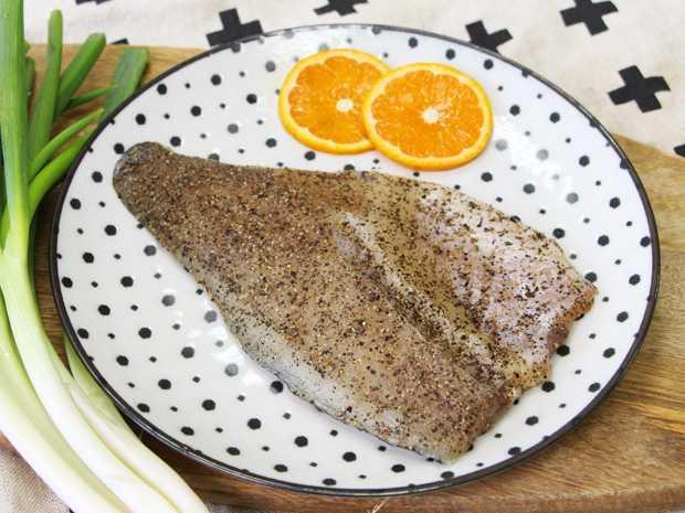 黑胡椒鱸魚排