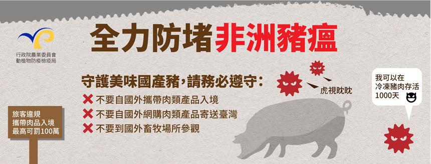 非洲豬瘟懶人包