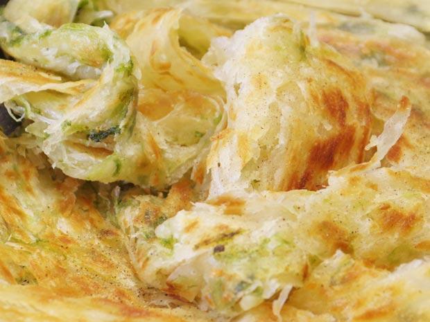 酥香海菜抓餅